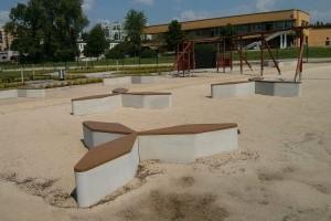 Miejsce dla dzieci na osiedlu Avia