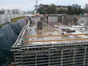 Budowa osiedla Avia w krakowskich Czyżynach Budimex