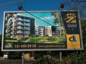 Wizualizacja apartamentów park lotników w Czyżynach w Krakowie