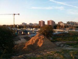 Miejsce powstania budynku Orlińskiego 1 w Czyżynach