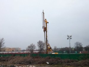 Plac budowy osiedla Murapol Bieńczycka w krakowskich Czyżynach