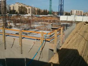 Budowa Orlińskiego 1 przez Budimex w Czyżynach w Krakowie