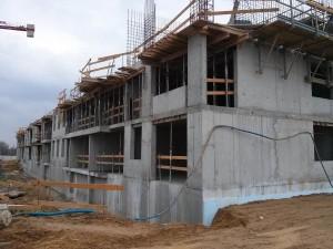 Kolejne piętro inwestycji Orlińskiego 6 jest wznoszone w Czyżynach