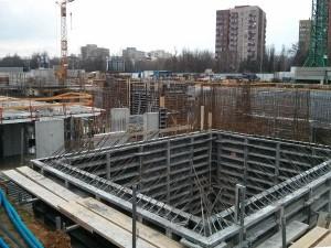 Stan prac na budowie Orlińskiego 1 prowadzonej w Czyżynach