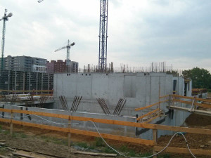 Tanie mieszkania Kraków - budowa parteru Orlińskiego 8
