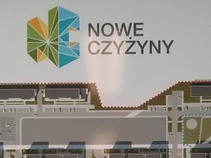 Mapa budynków na osiedlu nowe Czyżyny w Krakowie Budimex