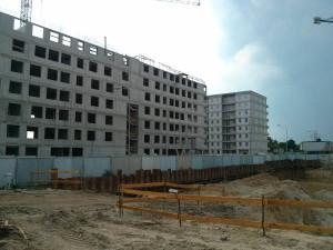 Nowe mieszkania Czyżyny - Budimex stawia ostatnie piętro bloku