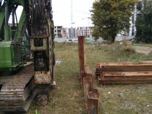 Budimex przygotowuje plac pod budowę osiedla Avia 7