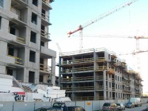 Osiedle Avia 3 - Budimex stawia 4 piętro nowego bloku w Krakowie