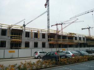 Budimex Nieruchomości stawia nowy blok w Czyżynach - Avia 3