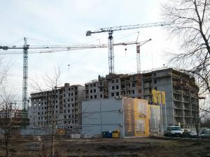 Budimex stawia ósme piętro inwestycji mieszkaniowej Orlińskiego 1 w Czyżynach