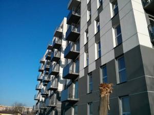Prawie gotowy nowy blok z tanimi mieszkaniami na Bieńczyckiej od dewelopera Murapol