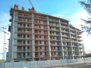 Osiedle Orlińskiego 1 w Czyżynach - Budimex zabezpiecza nowy blok