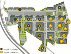 Osiedle Nowe Czyżyny i nowy budynek Orlińskiego 9