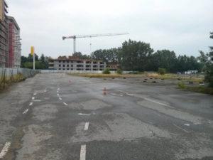 Miejsce powstania nowego parku i budowa Orlińskiego 12