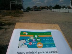 Budżeto obywatelski Krakowa i głosowanie na park