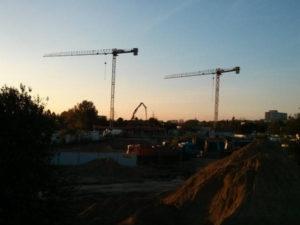 Okolice danego pasa startowego w Krakowie Czyżynach