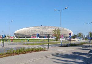 Tauron Arena Kraków - hala widowiskowo-sportowa w Czyżynach