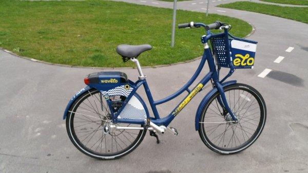 rower miejski systemu Wavelo