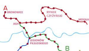 Stacja metra w Krakowie - Czyżynach