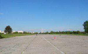 Pas startowy w Czyżynach - dawne lotnisko